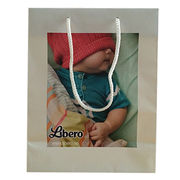 Paper Gift Bags with Rope Handle, Various Sizes and Prints are Available from Everfaith International (Shanghai) Co. Ltd