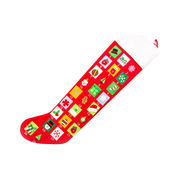 Handcrafted Christmas stocking from China (mainland)