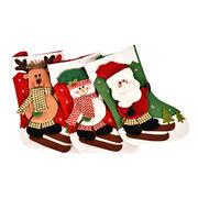 Felt Christmas stocking from China (mainland)