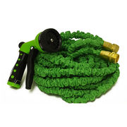 China Flex Garden Hose, Extremely Flexible, Never kink. Light weight. With Brass Couplings