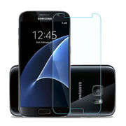 Transparent tempered glass screen protector for Samsung Galaxy S7 from Anyfine Indus Limited