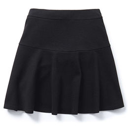 Girls' jersey skater skirts from China (mainland)