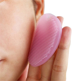 Silicone Facial Cleaning Pad Brush from China (mainland)