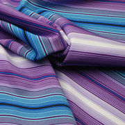 Moisture Wicking Fabric in 92% Poly + 8% Spandex Yarn Dye Multi Stripe Jersey from Lee Yaw Textile Co Ltd