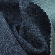 80% Poly + 20% Wool Jersey Bonded Fleece Fabric from Taiwan