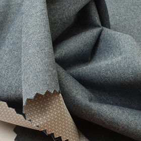 Waterproof Fabric in Heather Interlock, 2.5-Layer Milky PU laminated in WP10000 and MVP3000 from Lee Yaw Textile Co Ltd