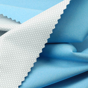 Waterproof Interlock Fabric with 2.5-Layer Milky PU laminated in WP10000 and MVP3000 from Lee Yaw Textile Co Ltd