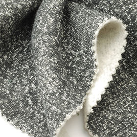 Fleece Fabric in Snow Looking Cotton, For Winter Coats and Jackets from Lee Yaw Textile Co Ltd