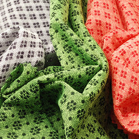 Tricot Mesh Fabric, 100% Poly 2-Tone Heather for Sports or Leisure Wear from Lee Yaw Textile Co Ltd