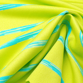 Space Dye Jersey Fabric in 20% Nylon Supplex and 4% Spandex for Yoga Wear from Lee Yaw Textile Co Ltd