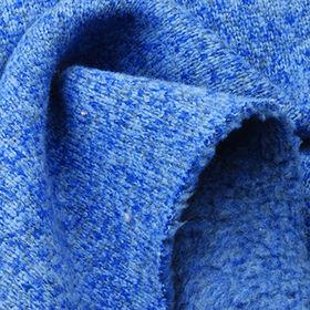 3-Tone Heather Heavy Jersey Fleece Fabric from Taiwan
