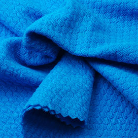 Anti-bacterial Fabric in Cotton and Spandex Honey Comb from Lee Yaw Textile Co Ltd