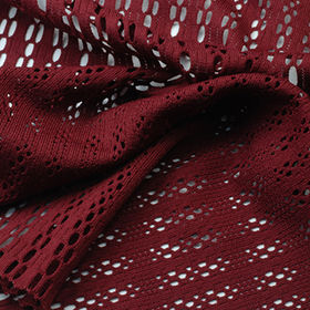 Quick Dry Fabric in 100% Poly Tricot Jacquard Mesh from Lee Yaw Textile Co Ltd