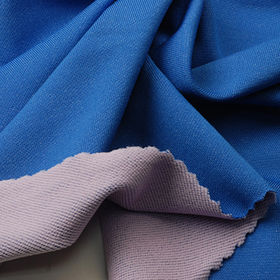Quick Dry Fabric, 2-Tone Reversable French Terry for Sports or Leisure Wear from Lee Yaw Textile Co Ltd