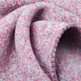 Fleece Fabric in 3-Tone Heather Heavy Jersey, For Winter Coats and Jackets from Lee Yaw Textile Co Ltd