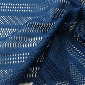 Mesh fabric in Poly and Spandex Tricot Jacquard from Lee Yaw Textile Co Ltd