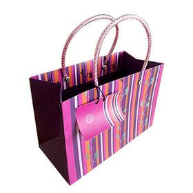 Luxury Laminated Carrier Bag OEM & ODM Acceptable from Everfaith International (Shanghai) Co. Ltd