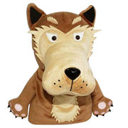Plush Wolf Puppet from China (mainland)