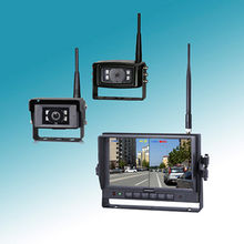Tractor Camera systems,with 9 inches Dual screen / Quad view screen,128GB SD card
