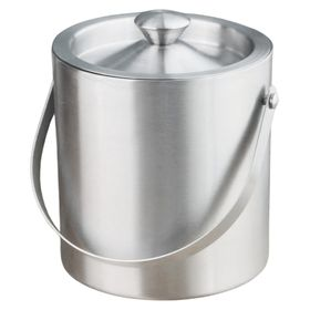 Ice & Wine Buckets - Stainless Steel Double Wall I from India