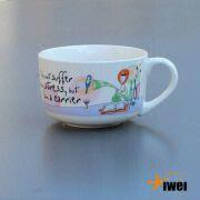 Iw0988 Soup Mug,soup Cup,soup Mug with Handle,jumbo Soup Mugs ...
