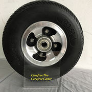 9x3.50-4 Black Foam Filled Wheelchair Wheel from China (mainland)