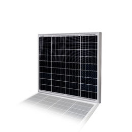 Polycrystalline Solar Panel with Tempered-glass Front and TPT Back Cover
