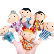 Cute Plush Family Finger Puppet from China (mainland)