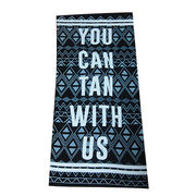 Beach towels from China (mainland)