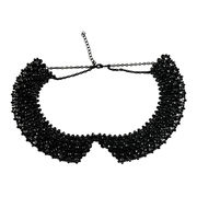 Statement Necklace, Decorated with Abundant Rhinestones, High Fashion, Small Orders are Accepted
