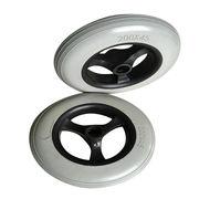 200X45 Gray PU Foam Wheelchair Wheel from China (mainland)