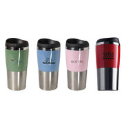 400ml stainless steel double wall travel mug from China (mainland)