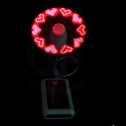USB LED Programmable Fan from China (mainland)