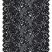China 18cm Exclusive Handcut Black Lace Trim for Lingerie