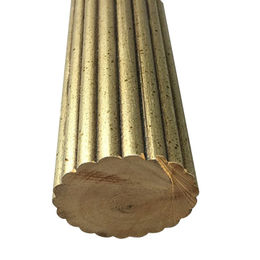 2 1/4-inch (57mm) Reeded Wooden Pole