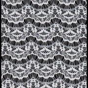 Fashion eyelash lace fabric Fujian Changle Xinmei Knitting lace Co.Ltd