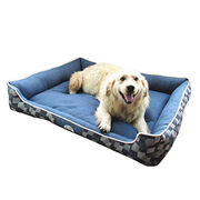 Durable jeans fabric confortable large dog bed from Hong Kong SAR
