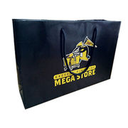 Luxury Matte Laminate Retail Paper Bag with Chipboard Reinforced Bottom from Everfaith International (Shanghai) Co. Ltd