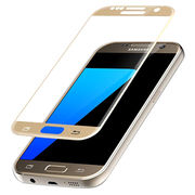 Colorful plating tempered glass screen protector for Samsung Galaxy S7 from Anyfine Indus Limited