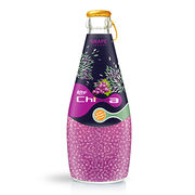 290mL Chia Seed Grape Flavour Drink from Vietnam