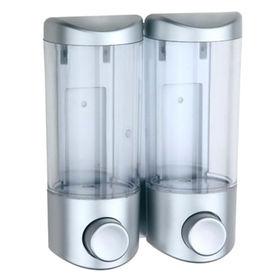 Hong Kong SAR Double Plastic Bottles Soap Dispenser