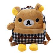 Hong Kong SAR Las mochilas casuales de los niños, estilo con las correas cómodas de la capacidad grande, recepción de la felpa del ODM del OEM