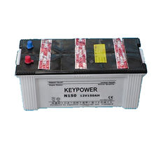N150 dry charge car battery from China (mainland)