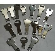 128MB-64GB Metal Key-shaped USB Flash Drive