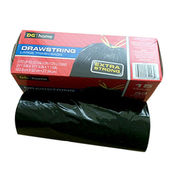 Extra Strong Drawstring Large Trash Bag Fits Up to 33 Gallon(125L) Cans