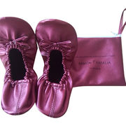 PU foldable ballet shoes from China (mainland)