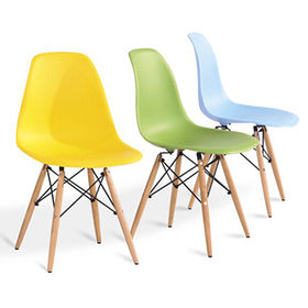 cheap plastic eames leisure chair from China (mainland)