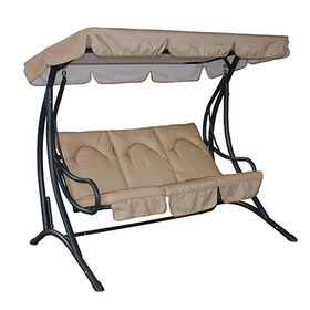 Three seats patio swing chair from China (mainland)