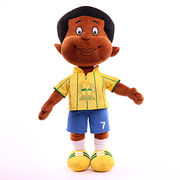 High quality lovely plush boy with sport clothing , accepted OEM from Dongguan Yi Kang Plush Toys Co., Ltd