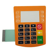F150 overlay metal domes membrane keypad from China (mainland)
